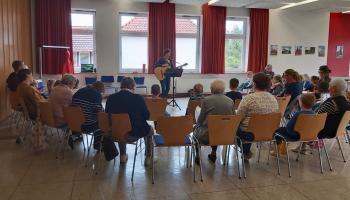 Probe des MitMachChors der Caritas in Duderstadt. | Foto: Isabel Lubojanski
