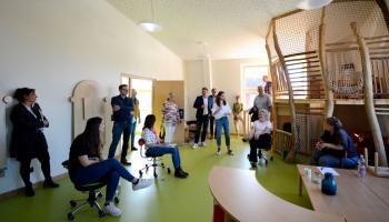 Viel Platz zum Spielen bieten Gruppenräume wie dieser auf dem Inklusiven Campus Duderstadt.   Foto: Christina Hinzmann